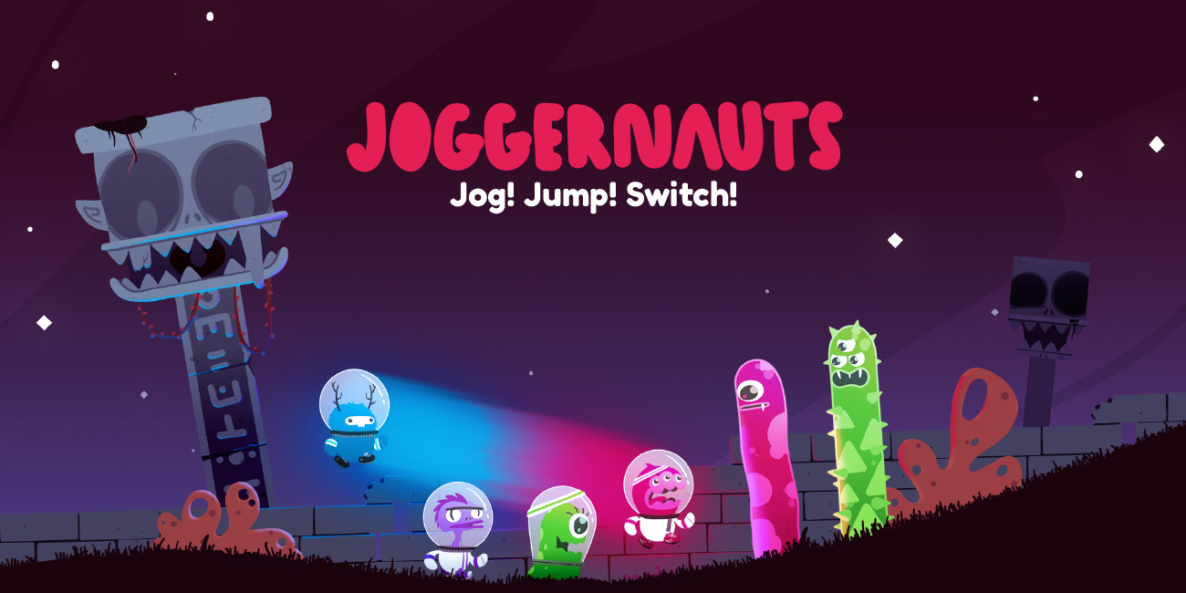 Joggernauts - Jog! Jump! Switch!